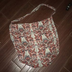 Free people cloth hobo bag